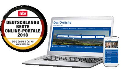 Das Örtliche Deutschlands beste Online-Portale 2018