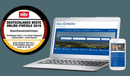 Das Örtliche Deutschlands beste Online-Portale 2019