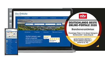 Das Örtliche Deutschlands beste Online-Portale 2020
