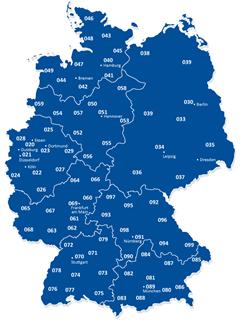 Telefonvorwahl Von Berlin