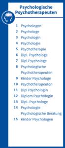 Infografik Psychologische Psychotherapeuten