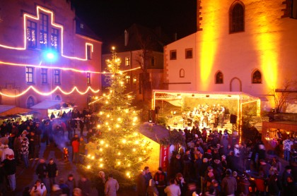 Romantischer Burg-Advent