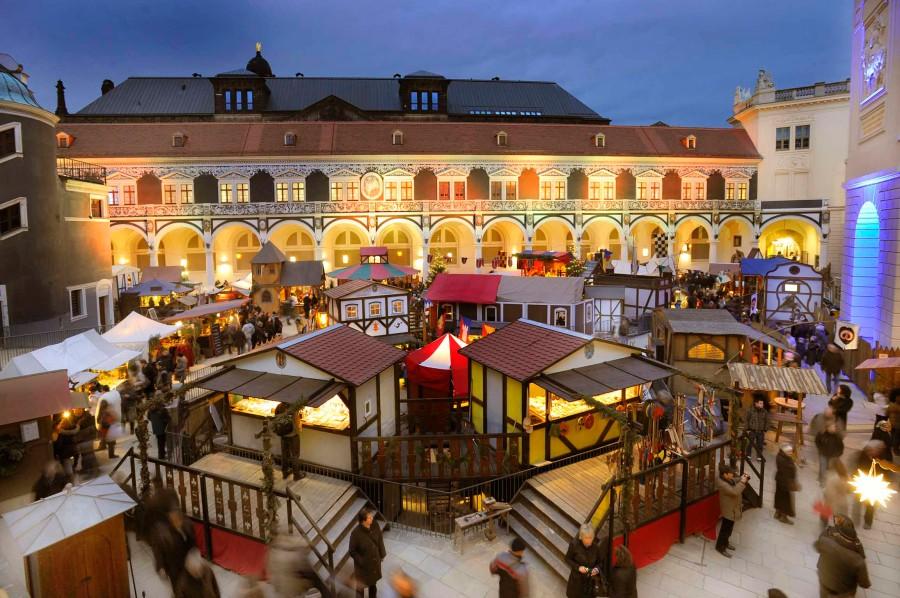 Mittelalterlicher Weihnachtsmarkt.Mittelalter Weihnachtsmarkt Im Stallhof Infos Und