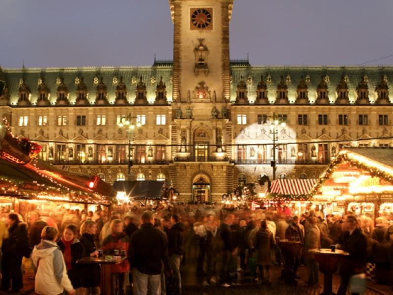Hamburger Weihnachtsmarkt.Historischer Weihnachtsmarkt Auf Dem Rathausmarkt Hamburg Infos