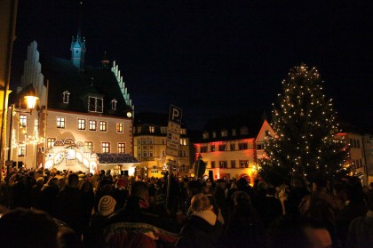Lichterfest am 24.12.2011 Pößneck